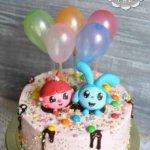 Торт с малышариками