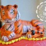 Торт с тигром