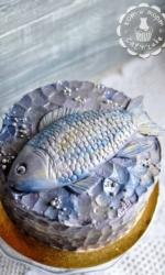 Торт с рыбой!