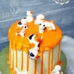 Торт с кошками
