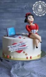 Торт для деловой женщины