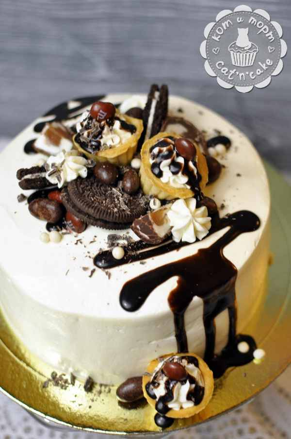 Торт с печеньем Oreo
