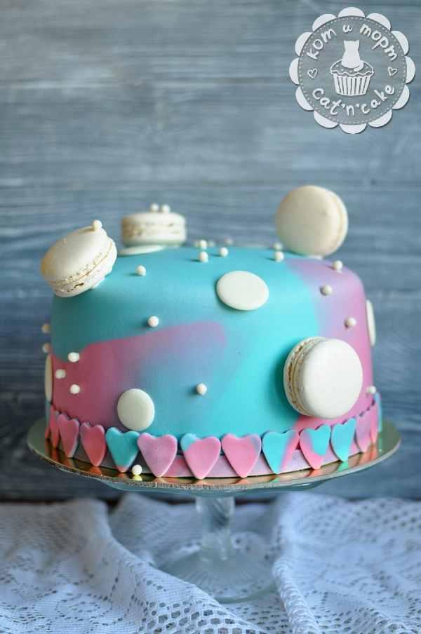 Интересный торт