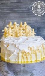 Торт с ёлочным лесом