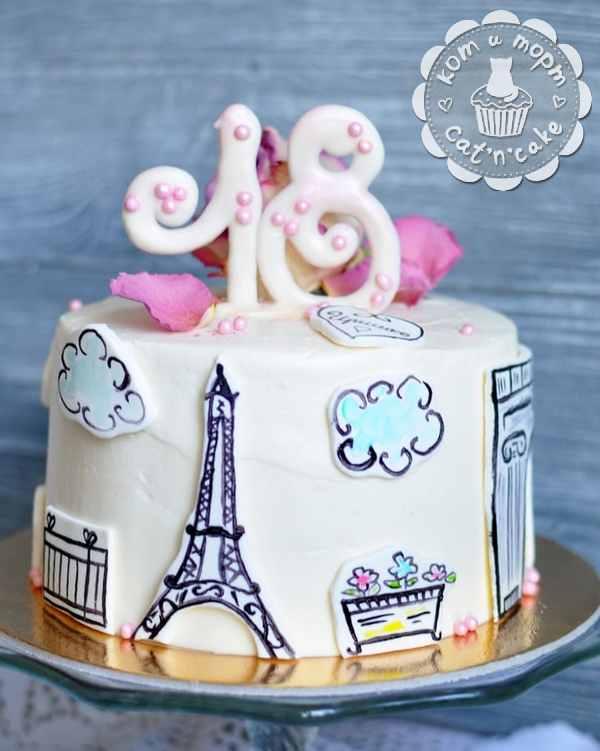 Торт парижский