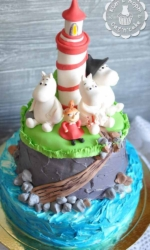 Торт с Муми-троллями-2
