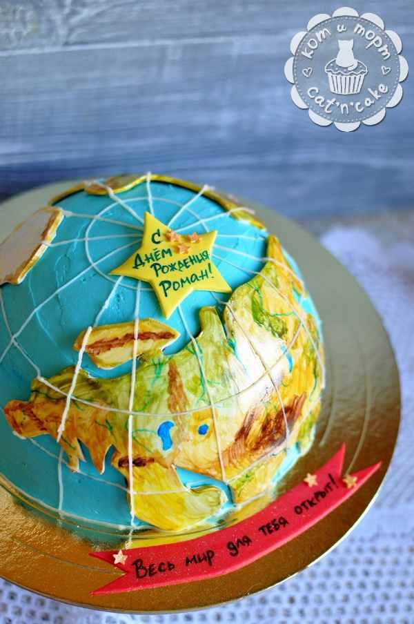 Торт-глобус