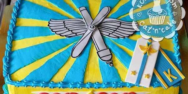 Торт на выпуск ЧВВАКУШа