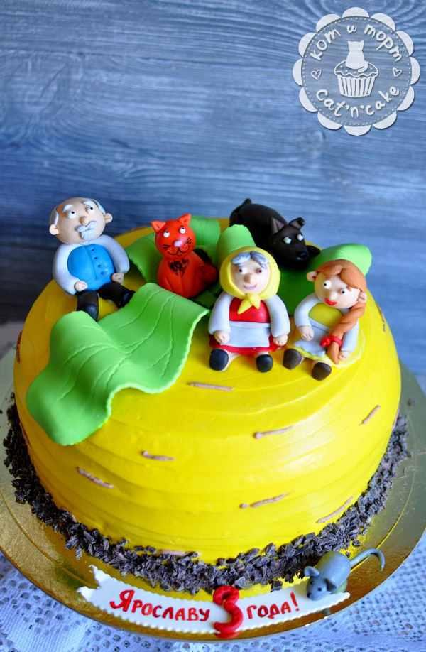 Торт по сказке «Репка»
