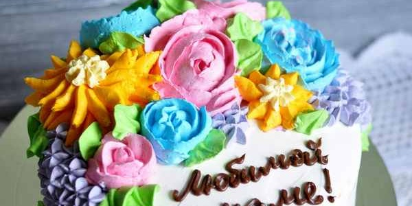 Простой торт для мамы