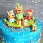 Торт «Три кота»