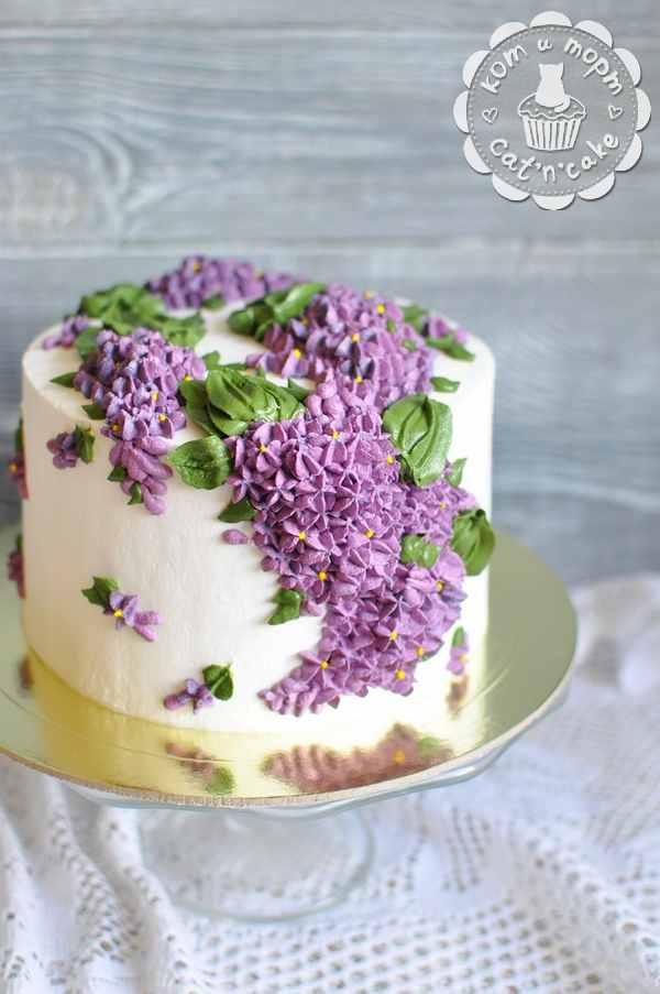 Торт с сиренью