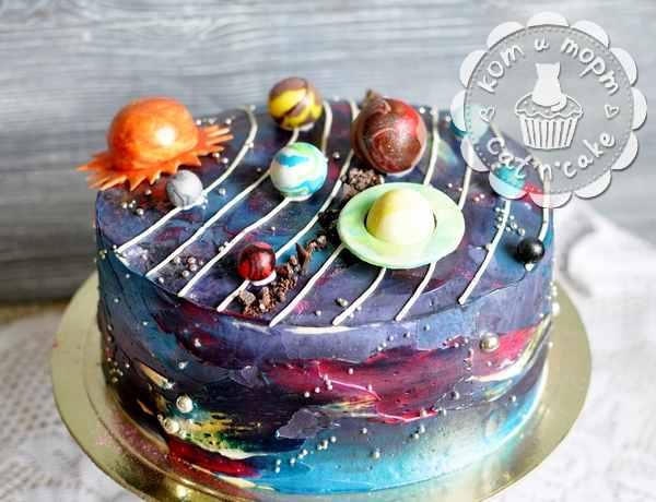 "Торт ""Солнечная система"""