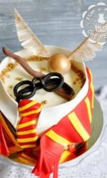 Торт на тему Гарри Поттера