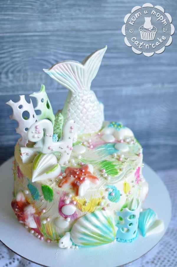Торт для русалки