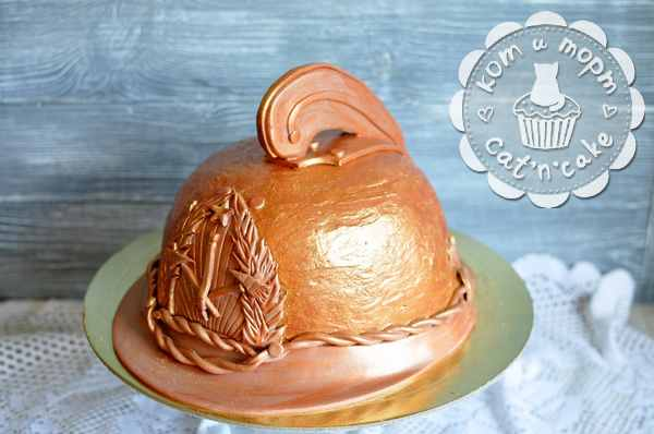 Торт-пожарный шлем