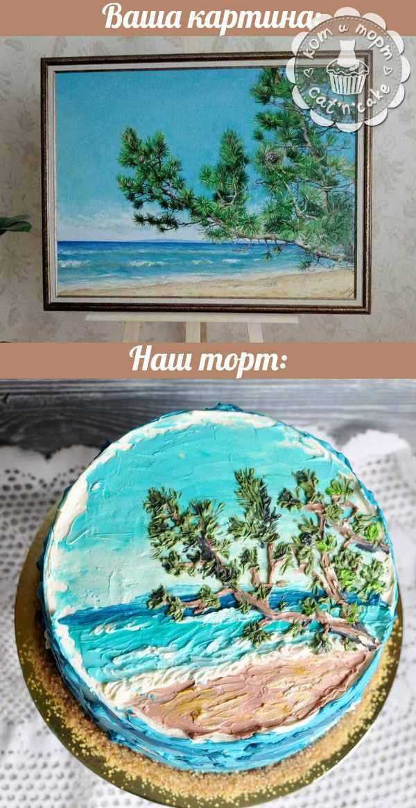 Ваша картина - наш торт