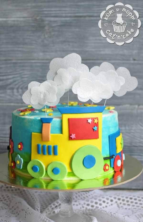 Торт-паровозик