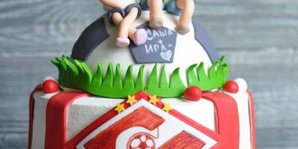 Торт для фаната «Спартака»
