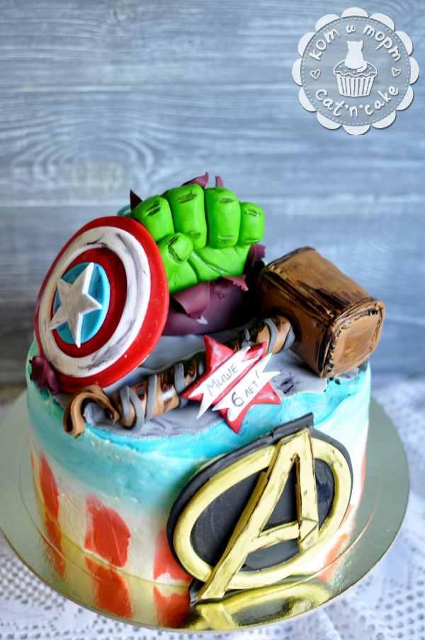 Торт «Мстители»
