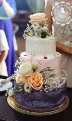 Свадебный торт от Кота и торта