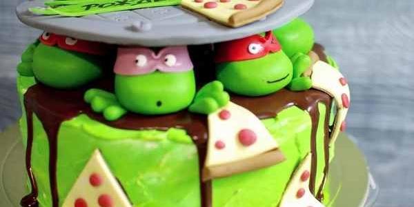 Торт «Черепашки-ниндзя»