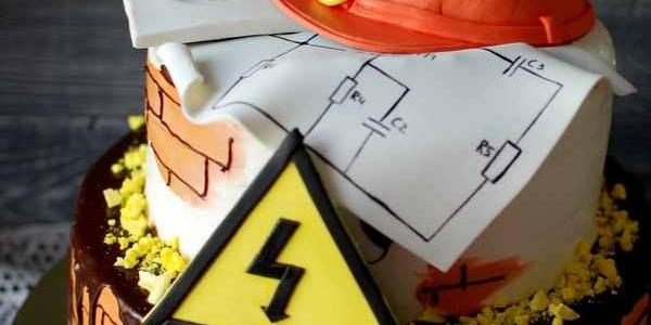 Торт для инженера-строителя