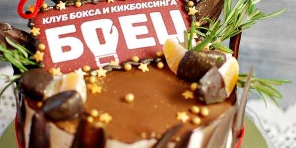 Торт для клуба «Боец»