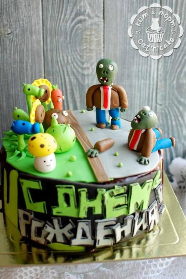 Торт-зомби!