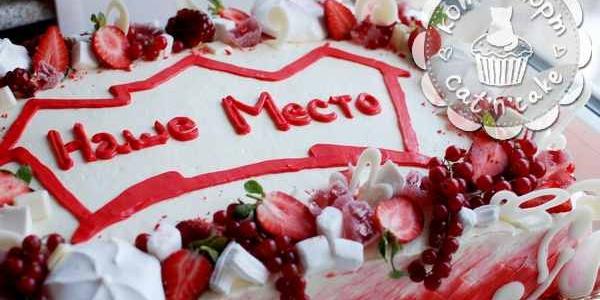 Корпоративный торт для «Нашего места»