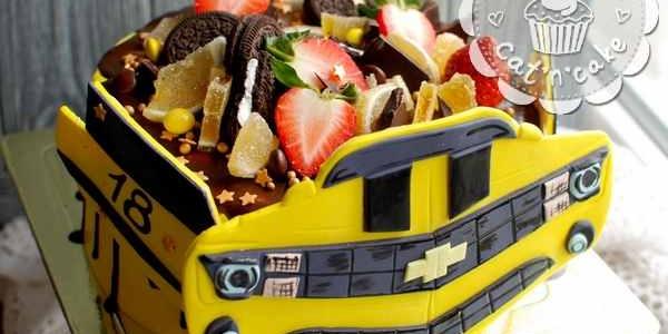 Торт «Шевроле Камаро»