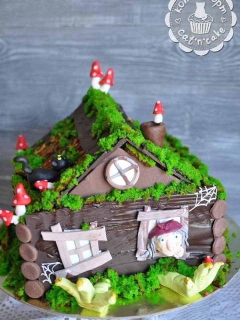 Торт - домик Бабы Яги