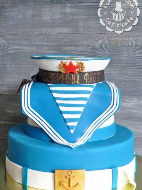 Торт для моряка
