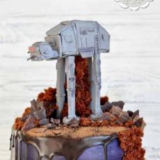 Торт с шагоходом из «Звёздных войн»