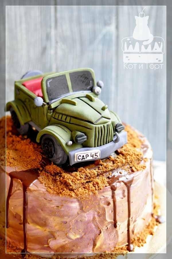 Торт с ГАЗ-69