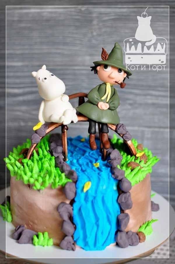 Торт Муми-троль и Снусмумрик