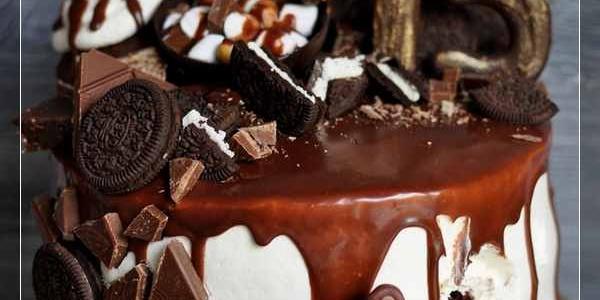 Шоколадный торт с медведем