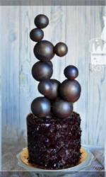 Торт Шоколадная молекула
