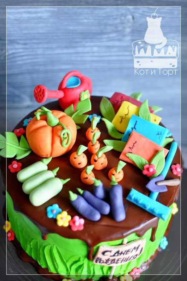 Торт для огородника и библиотекаря