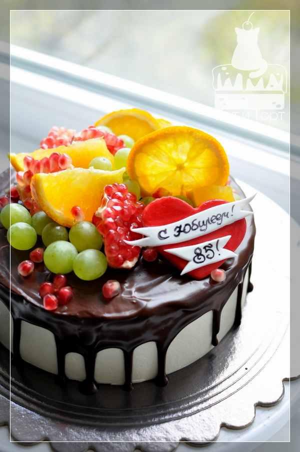 Торт на юбилей 85 лет