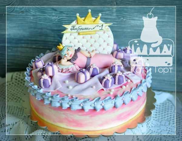Торт для супербабушки