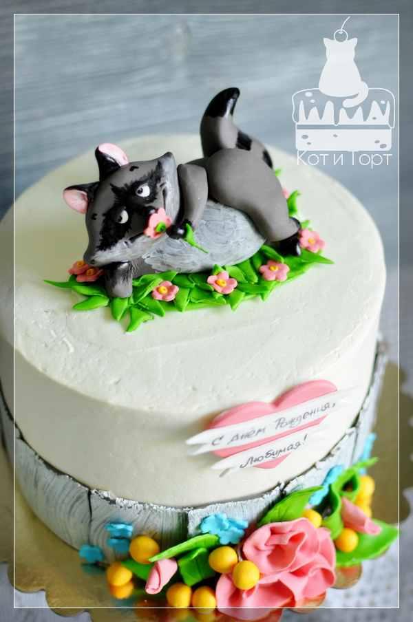 Торт с любвеобильным Енотом