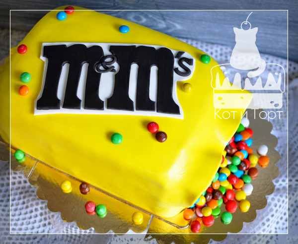 Торт M&m`s
