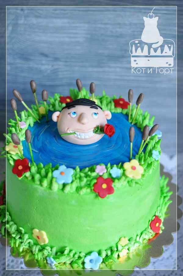 Торт с поклонником