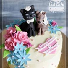 Торт для молодожёнов