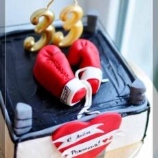 Торт для боксёра