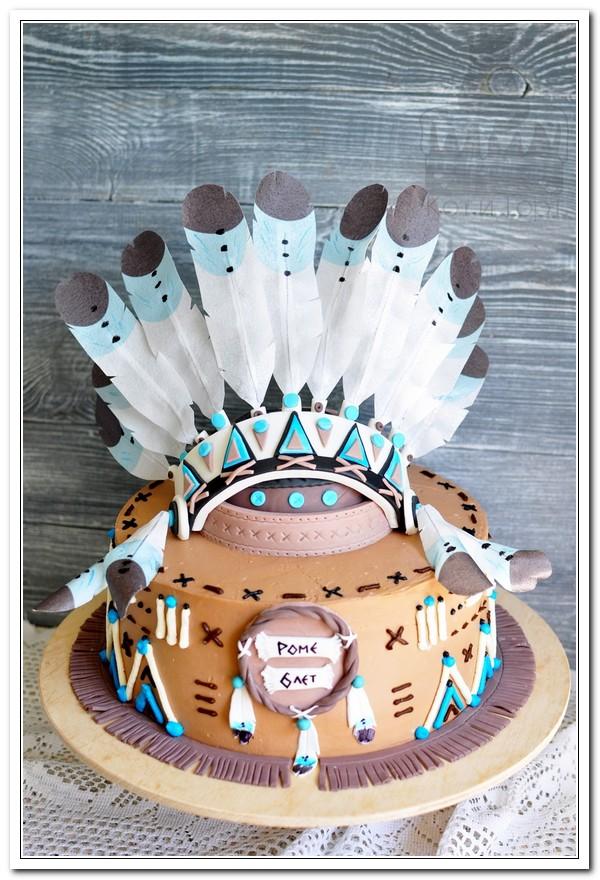 Настоящий индейский торт