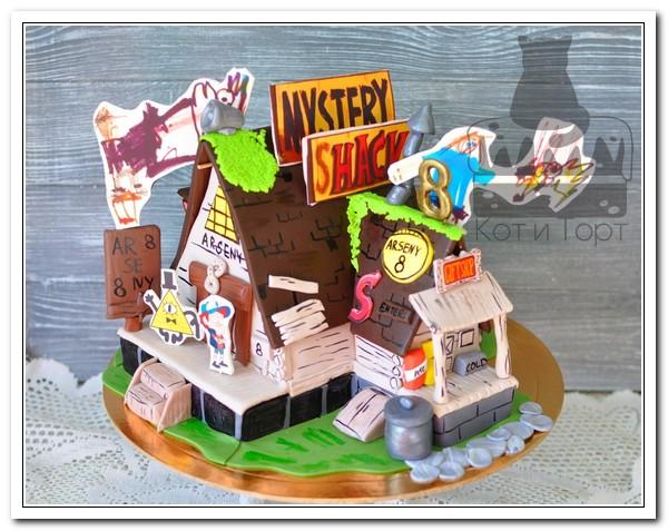 Торт по эскизу заказчика