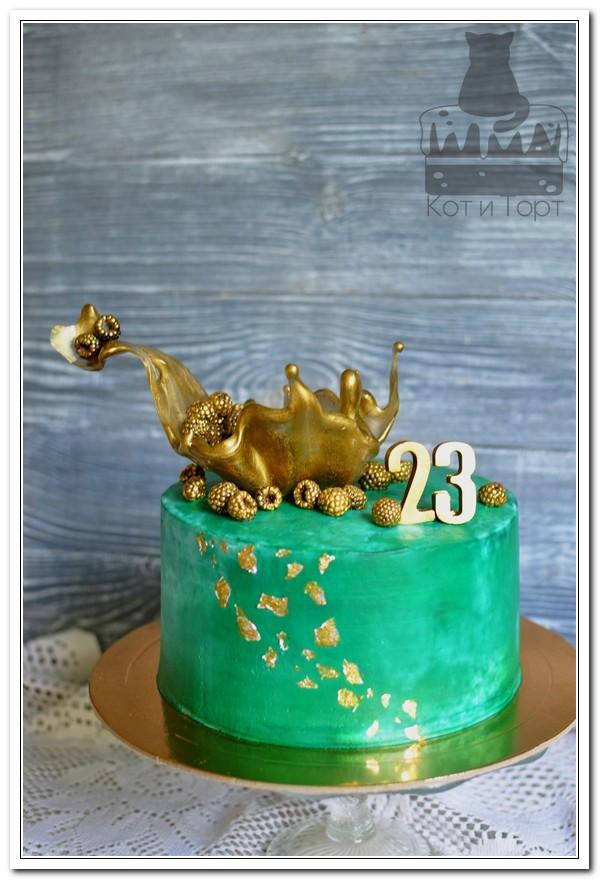 Торт на берилловую свадьбу (23 года)