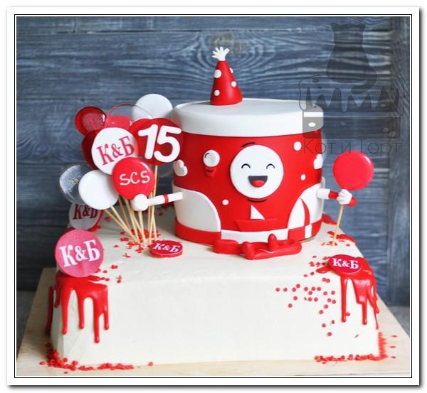 Торт для «Красное и Белое»